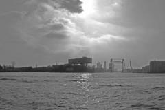 Panorama rotterdam 2008 zwart wit